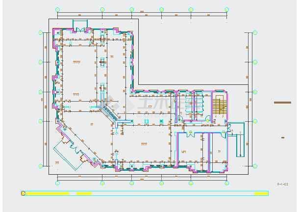 【江苏】某2层欧式风格售楼处建筑装修设计施工图