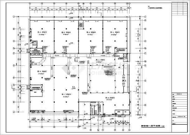 电影院综合大楼空调系统设计图