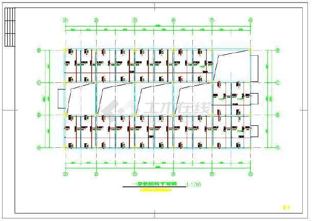 【新疆】框架结构空压机房结构施工图(单层)