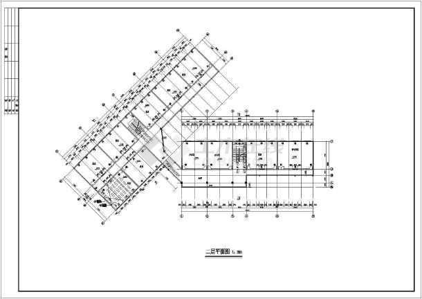 某地区小学教学楼设计方案图(含设计说明)