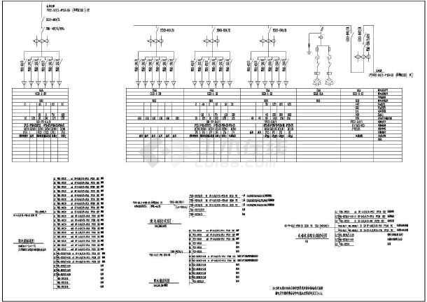 图纸 电气图纸  商业建筑(商业建筑电气图纸)  商场商铺建筑电气设计