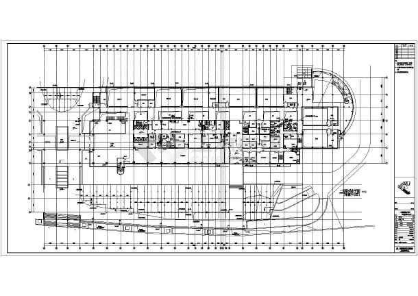 福建某三十层框架结构广播中心给排水消防设计施工图