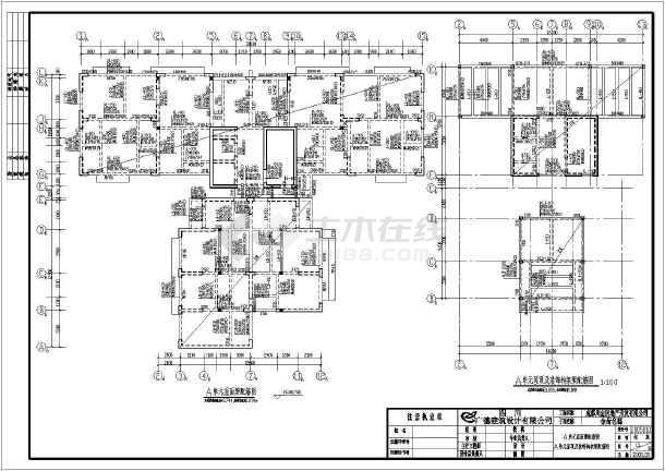某地高层剪力墙结构住宅楼结构设计施工图