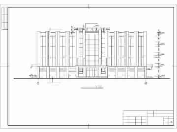 某地砖砼结构四层宿舍建筑设计施工图