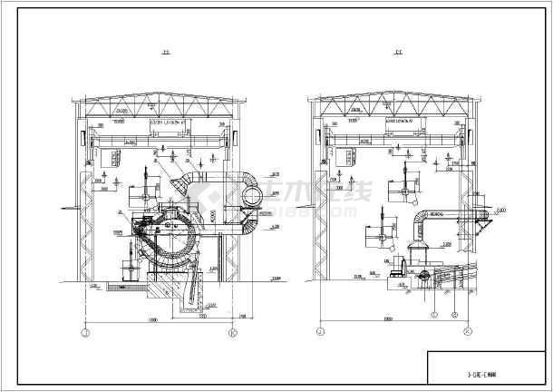 高炉布袋除尘器_某工程高炉出铁场除尘系统设备及管道安装图_cad图纸下载-土木在线