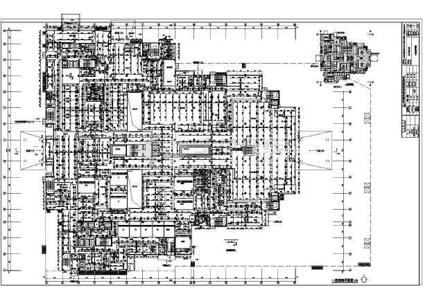 某地医院建筑项目给排水专业设计施工图