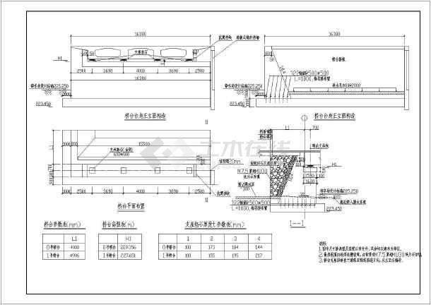 16米宽简支箱梁钢筋图