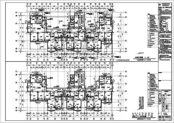 青岛某小区平面图及施工图设计