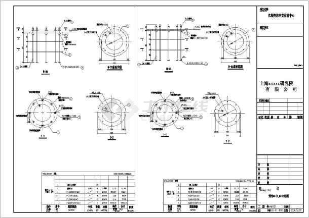上海某设计院标准钢结构建筑节点图_cad图纸下载-土木