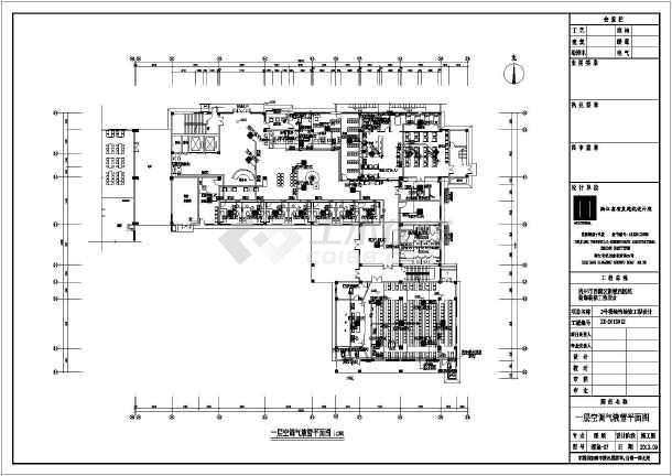 杭州某医院多联机空调系统设计全套图纸图片3