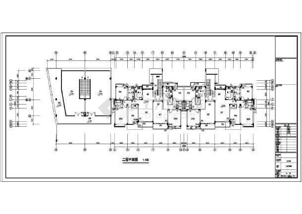 【江苏】某小区住宅楼给排水设计图-图1