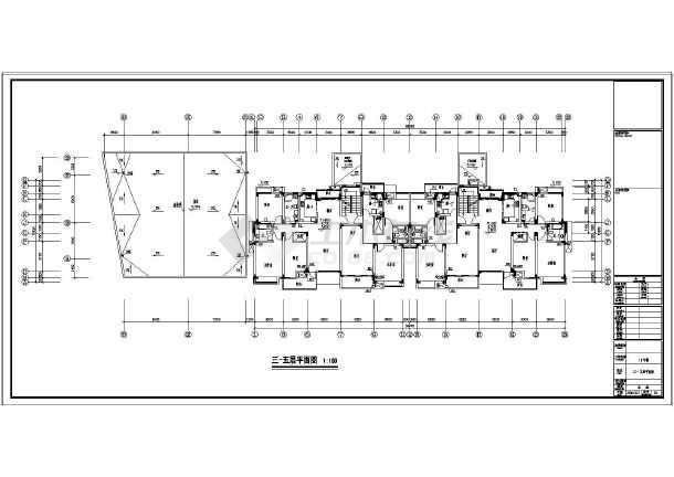 【江苏】某小区住宅楼给排水设计图-图2