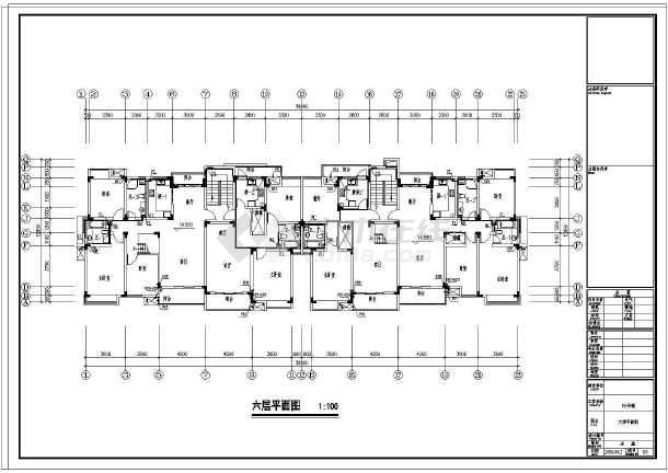 【江苏】某小区住宅楼给排水设计图-图3