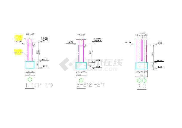 【新疆】砖混结构单层项目指挥部(层高3m,天然地基)