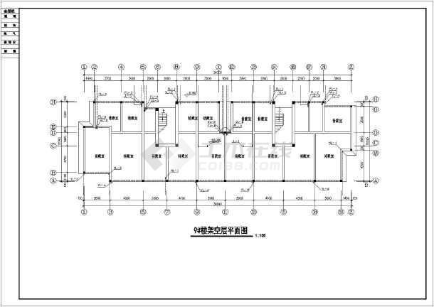某小区住宅楼全套给排水设计施工详图-图1