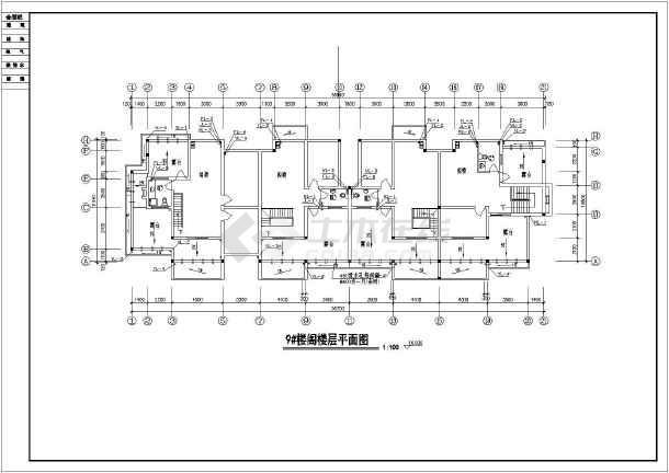 某小区住宅楼全套给排水设计施工详图-图2