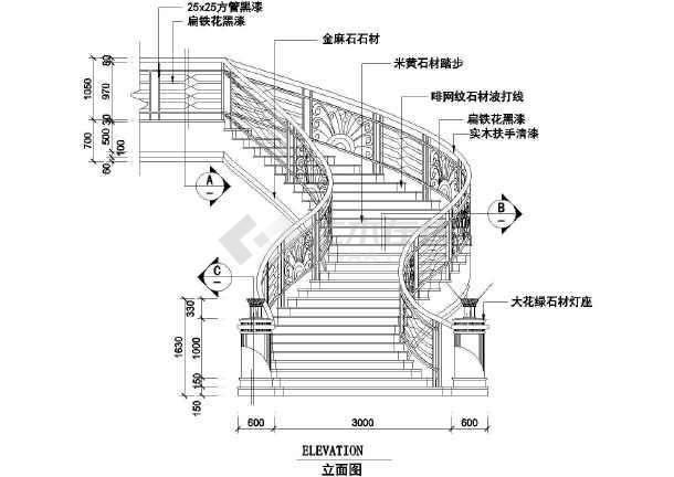 楼梯地铁图_cad大样下载图纸cad图片