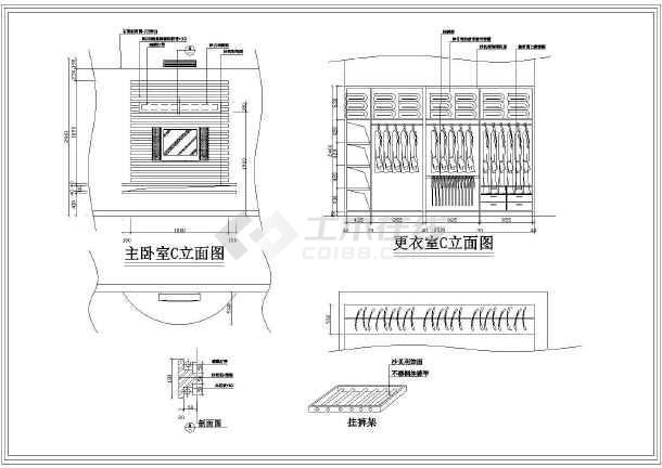 某地三层别墅装饰设计全套施工图(现代风格)