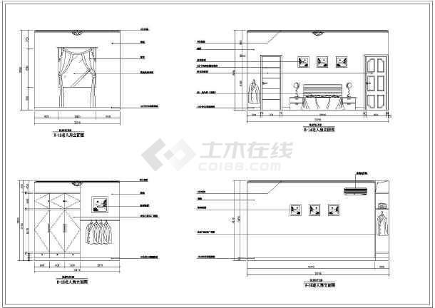 某3层别墅室内装修及电气设计施工图