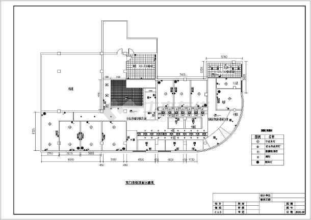 某地中式风格茶楼室内装修设计施工图
