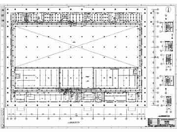 厂房电气设计图纸