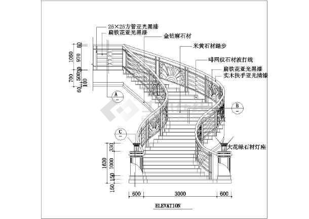 4,钢结构厂房施工图,结构立面图,预埋锚栓布置图,钢柱平面布置图