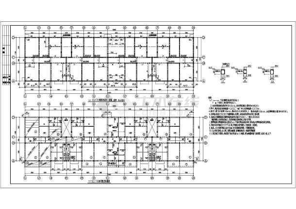 结构施工图纸,柱下独立基础
