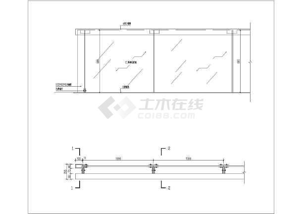 某1米高游泳池图纸全套版本施工图_cad玻璃下怎样设置cad护栏号图片