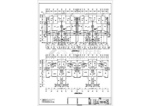 【贵阳】某六层住宅水电施工图,共14张