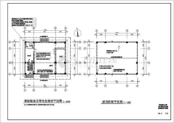某地区燃气锅炉房电气设计全套图纸图片