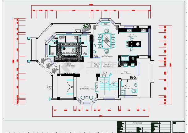 【香港】某别墅v别墅别墅室内装修设计图效果图阳台装修双层图片