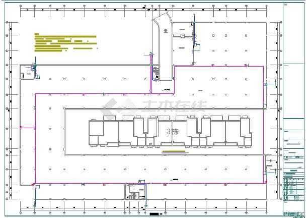彭州某小区地下车库给排水设计图纸图片2