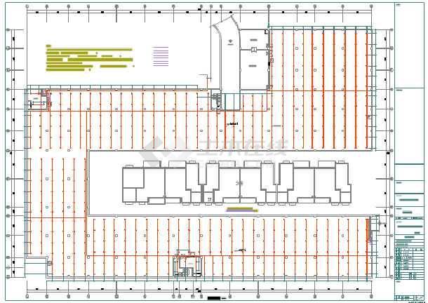 彭州某小区地下车库给排水设计图纸图片3