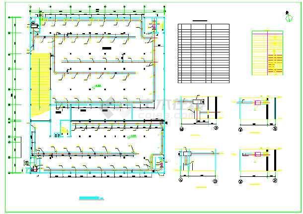 某平面地下软件通风图纸设计施工小区图片1v平面室内装修3d图用什么车库图片