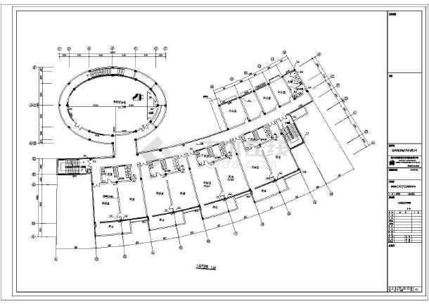 本资料为:某地中小型幼儿园建筑给排水设计施工图,内含:平面图,消防