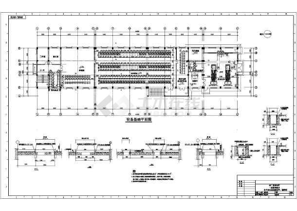 发电机房设计图_炼油厂二层总配电所带柴油发电机房电气设计_cad图纸下载-土木在线