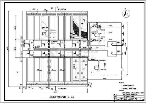 东兴市给水处理厂毕业设计文件图纸_cad图纸下载-土木