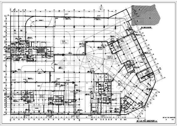 某地两层地下室给排水 人防设计施工图图片