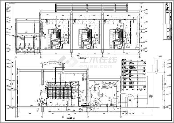 容量供热锅炉房设计,蒸汽字体6t/h,共三台ppt设计锅炉怎么幻灯片图片