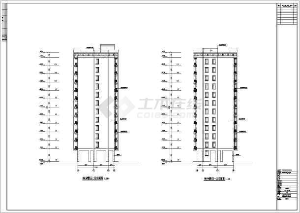 某地区22层公寓楼建筑设计施工图纸