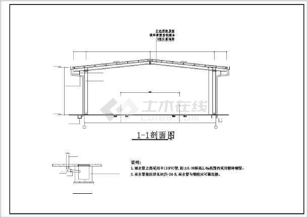 钢结构停车棚雨伞图纸架日本设计图