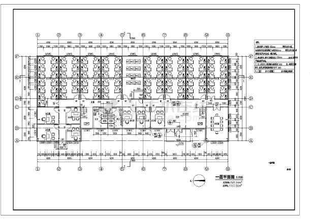 【广东】某二层钢结构办公楼施工图