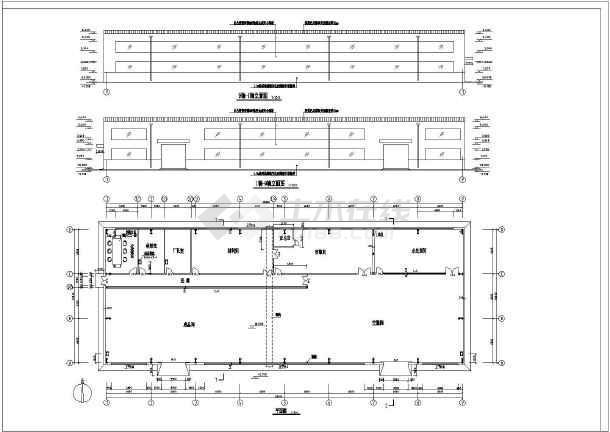 某单层轻钢结构厂房建筑设计施工图