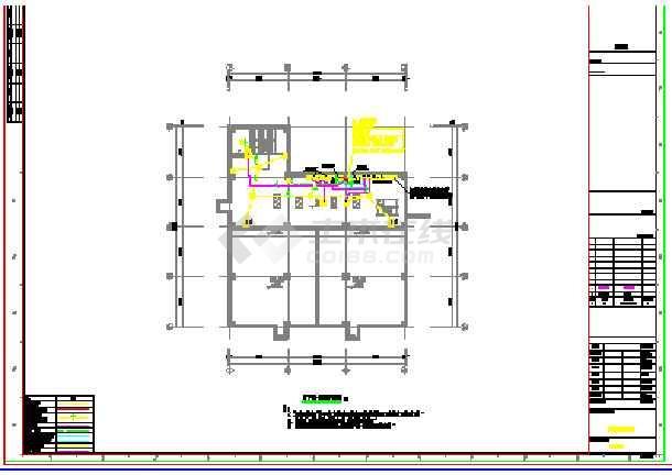 某工业厂房电气图纸-图1