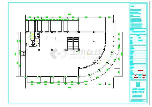 某地茶室装修设计施工图纸图片1