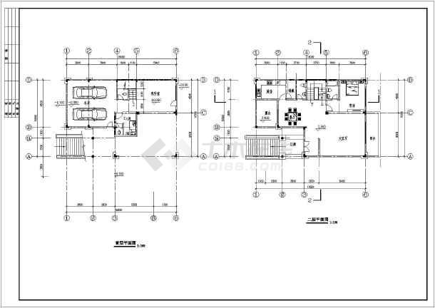某三层清新别墅建筑设计350平米(长15米 宽10.5米)图片3