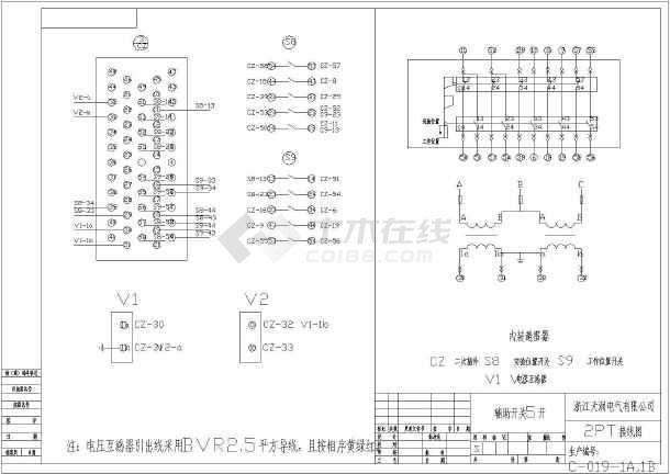 KYN28A-12视角开关柜AH9PT柜图纸cad第几中国高压图纸图片