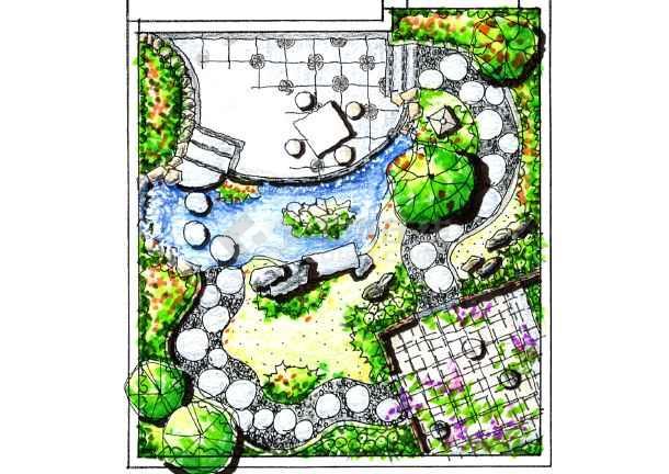 别墅手绘平面图_cad图纸下载-土木在线