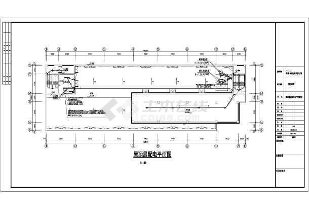 包括电气设计施工说明,目录,材料表,配电干线图,弱电系统图,配电系统