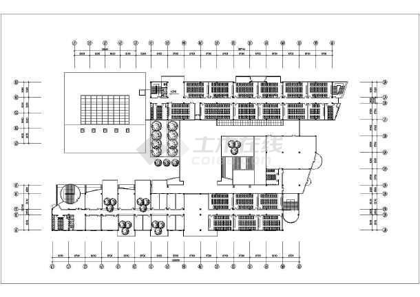 某地区大学教学楼建筑方案设计图纸